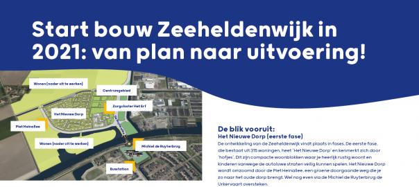 Infobulletin #1 Zeeheldenwijk